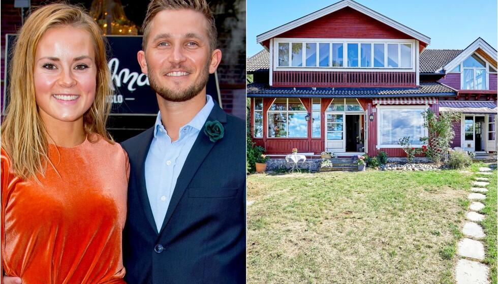 BOLIGKJØP: Helene Olafsen og Jørgen Nilsen venter barn. Nå har de også kjøpt seg hus på Malmøya i Oslo. Foto: Tor Lindseth, Se og Hør/ Aakermann Photography