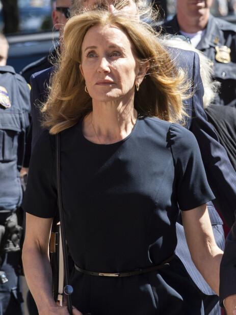 SKYLDIG: Felicity Huffman erklærte seg skyldig, og har sonet ferdig sin fengselsdom. Foto: NTB Scanpix