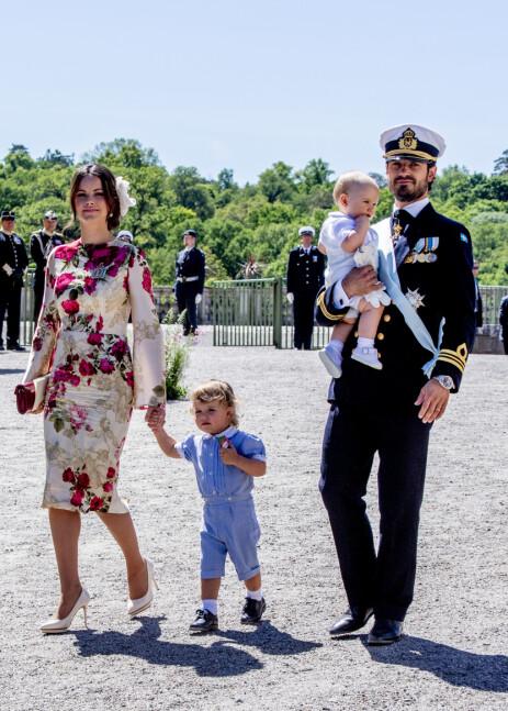 FJERNET: Prins Alexander og prins Gabriel, barna til prins Carl Philip og prinsesse Sofia, er fjernet fra kongehuset. Nå snakker foreldrene om hvorfor. Foto: NTB scanpix