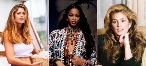 Supermodellenes «forvandling» de siste 30 årene