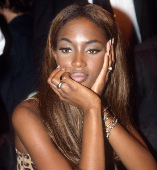 ANERKJENT: Naomi Campbell ble raskt en anerkjent modell. Her avbildet i 1991. Foto: NTB Scanpix