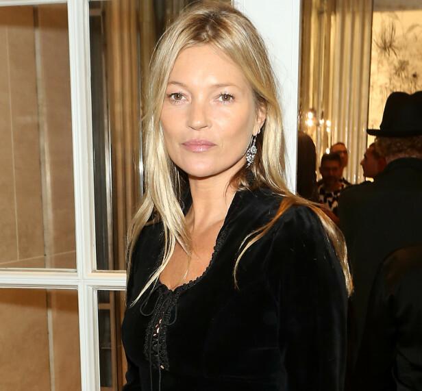 NÅTID: Kate Moss er i dag 45 år og har en datter. Foto: NTB Scanpix