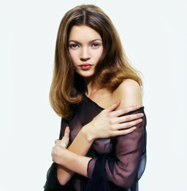 IKON: Flere ser på Moss som en av 90-tallets største modellikoner. Her fotografert av Vic Singh i 1992. Foto: Vic Singh/ Rex/ NTB Scanpix