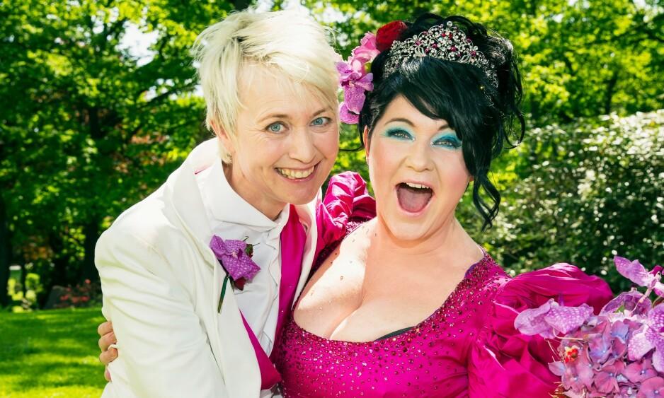 GIFT: Pernille Rygg og Christine Koht hadde vært samboere i 23 år da de giftet seg i 2013. Nå vil Koht så gjerne hjem til sin elskede kone. Foto: Tor Lindseth