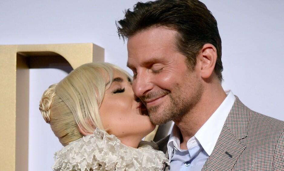 OMTALER RYKTEFLOMMEN: Romanseryktene mellom Lady Gaga og Bradley Cooper spredde seg som ild i tørt gress etter Oscar-opptredenen tidligere i år. Nå forteller førstnevnte nok en gang om bakgrunnen for ryktene. Foto: NTB Scanpix