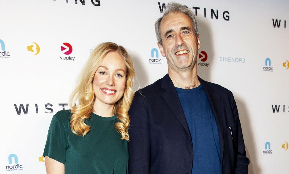 SLUTT: Finansmannen Olaf Thommessen kom på premiere med sin kjæresten Malin Sjoner i april. Nå har de gått hver til sitt. Foto: Andreas Fadum