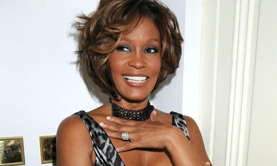 <strong>RYKTER:</strong> I flere tiår verserte det rykter om at Whitney Houston hadde et forhold til sin bestevenninne. Her er hun avbildet i 2009. Foto: NTB Scanpix