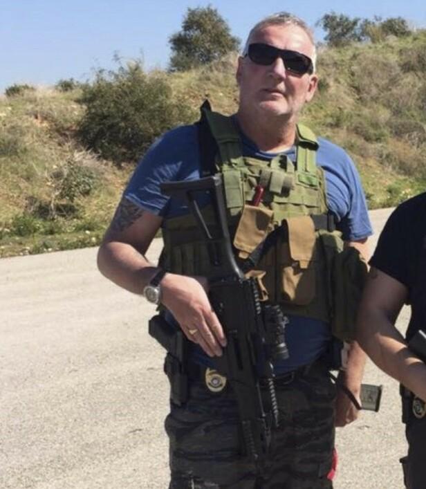 UREDD: I over 30 år har Brodahl jobbet i noen av verdens verste krigsområder, sist som sikkerhetssjef i Libanon. Foto: Privat