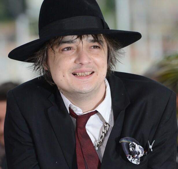 TATT: Det er ingen hemmelighet at Pete Doherty tidvis lider av rusproblemer. Foto: NTB Scanpix