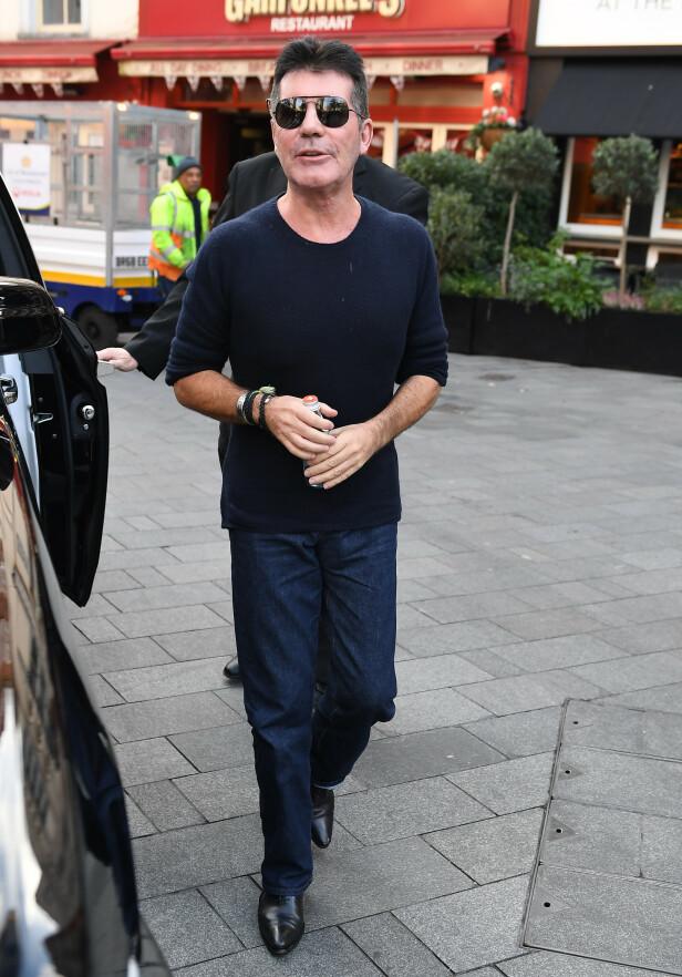 <strong>TYNN:</strong> Det er liten tvil om at Cowell har gått ned i vekt. Foto: NTB Scanpix