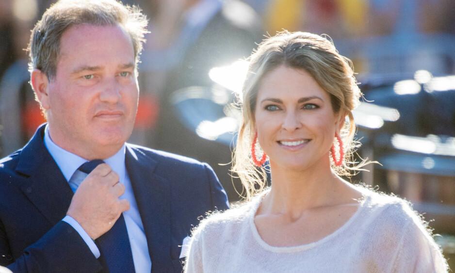 DELTAR PÅ NOBELFESTEN: Prinsesse Madeleine vil være til stede på Nobelfesten, etter flere års fravær. Det samme gjelder ikke ektemannen Chris O' Neill. Foto: NTB Scanpix