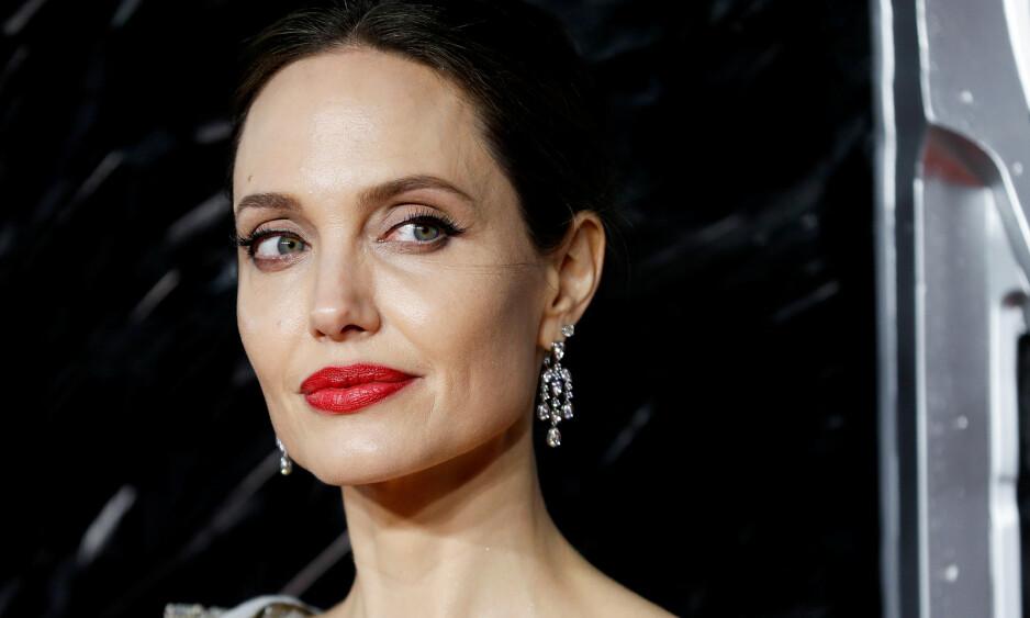 SINGEL: Angelina Jolies hovedfokus etter skilsmissen har vært de seks barna. Foto: NTB Scanpix