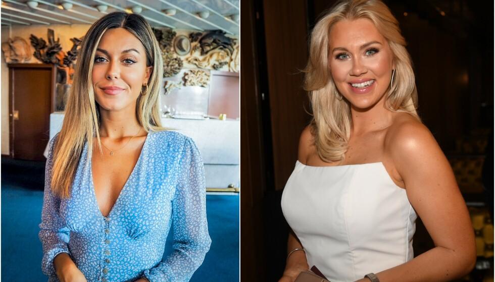 JUKS: Den svenske bloggeren Isabella Löwengrip anklages for å ha kjøpt kommentarer. Nå har også Bianca Ingrosso (t.v.) uttalt seg. Foto: Henriette Eilertsen og NTB Scanpix