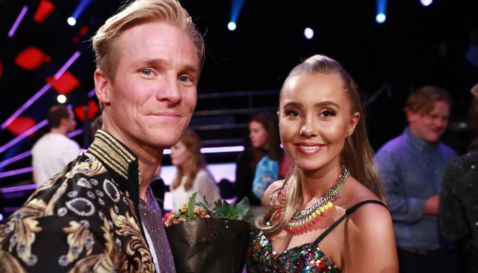 PROFFDANSER: Fredric Brunberg har vært med i flere sesonger av dansekonkurransen, og kom i fjor på tredjeplass med toppblogger Martine Lunde. Foto: TV 2