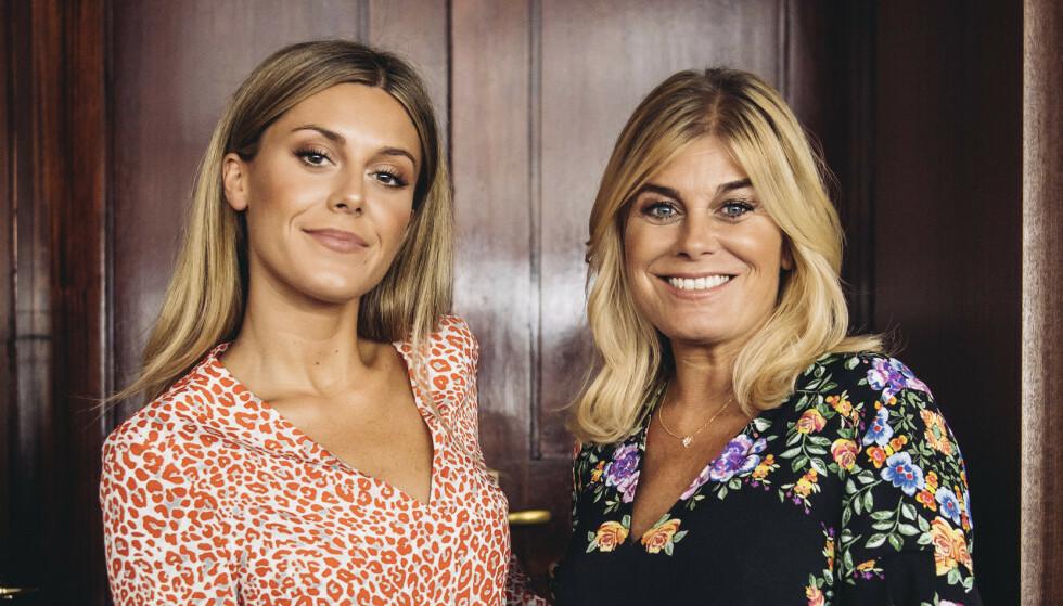 MOR OG DATTER: Bianca Ingrosso er godt kjent gjennom blant annet tv-serien «Wahlgrens värld», som følger livet til familien hennes - med moren Pernilla Wahlgren i front. Foto: NTB Scanpix