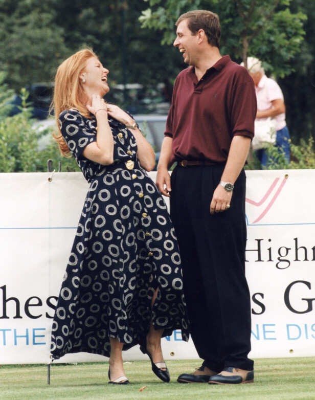 <strong>EKSKONA:</strong> Prins Andrew var gift med Sarah Ferguson fra 1986 til 1996. Foto: NTB Scanpix