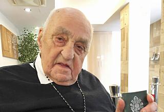 Møtte paven: - Som et mirakel