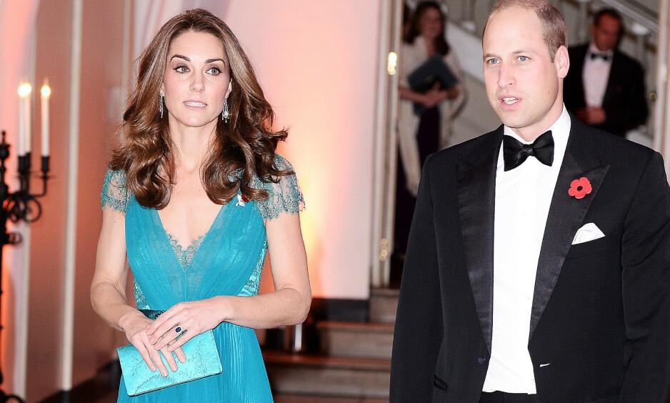 UTSATT FOR «TYVERI»: Hertuginne Kate og prins Williams residens er Kensington Palace, og nå røper artist Camila Cabello at hun stjal en penn da hun gjestet palasset nylig. Foto: REX/ NTB scanpix