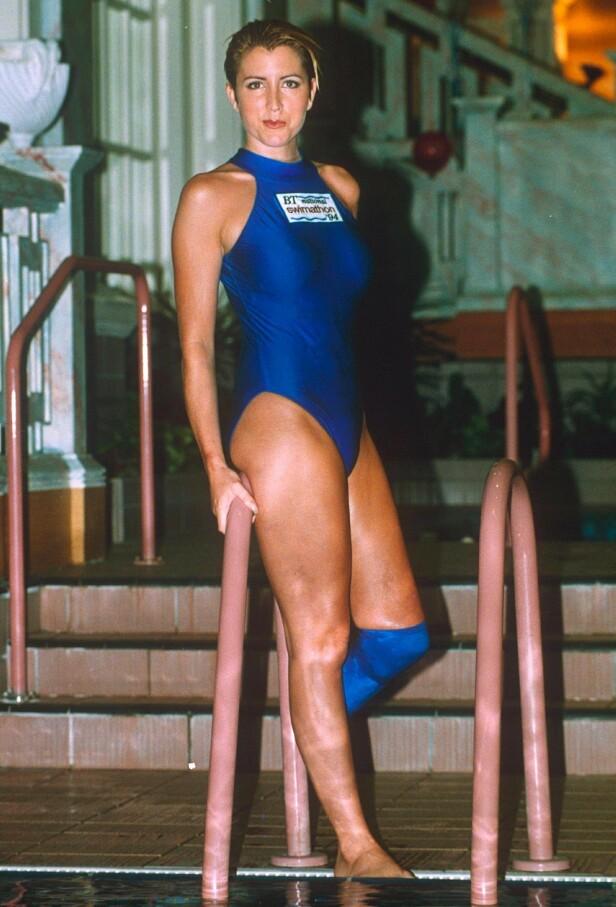 <strong>MODELL:</strong> Heather Mills jobbet som modell da hun ble kjent. Her er hun fotografert i 1993. Foto: Rex / NTB scanpix