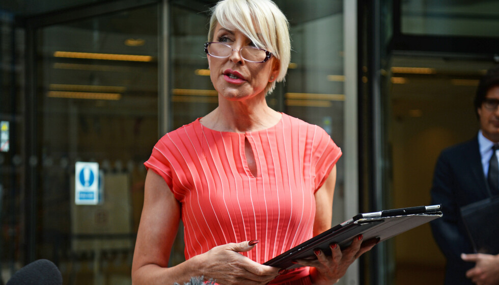 <strong>ELDRE:</strong> Heather Mills har trukket seg delvis tilbake fra rampelyset, men var å lese om i sommer i forbindelse med hackesaken. Her er hun fotografert utenfor Rolls-bygget i London. Foto: NTB scanpix