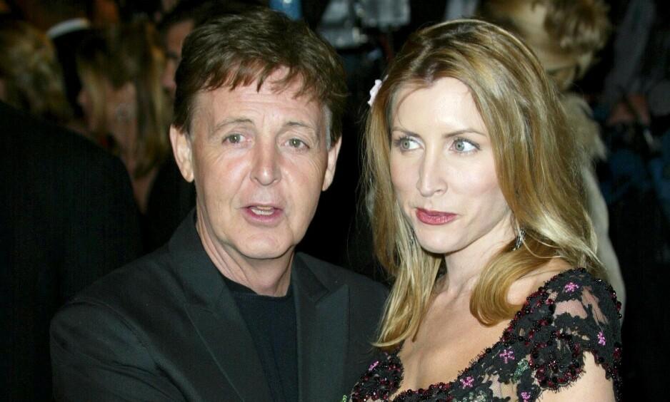 <strong>EKSPAR:</strong> Paul McCartney og Heather Mills var gift fra 2002 til 2008. Både før, under og etter ekteskapet har sistnevnte klart å skape overskrifter. Foto: NTB scanpix