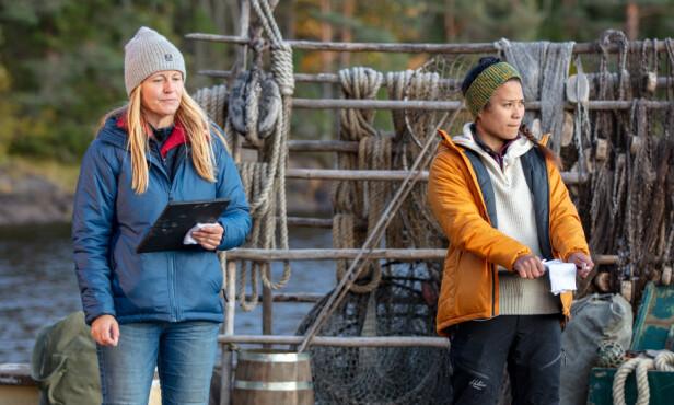 DUELL: Det sto til slutt mellom Vibecke Garnaas og Berit Ivy Junge, der sistnevnte måtte se seg slått. Foto: Alex Iversen / TV 2