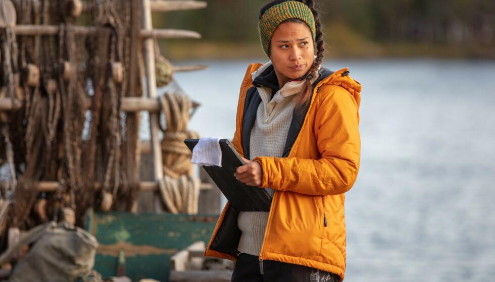 UTE I FINALEUKEN: Berit Ivy Junge ble den andre deltakeren til å forlate realitygården i finaleuken. Foto: Alex Iversen / TV 2