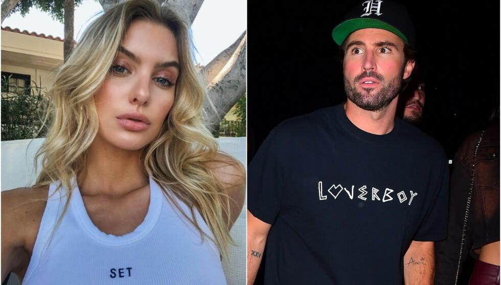 ROMANTIKK: Brody Jenner har funnet seg en ny blond modell. Dette er hans andre modell-kjæreste etter sommerens skilsmisse. Foto: Skjermdup fra Instagram(/ NTB Scanpix