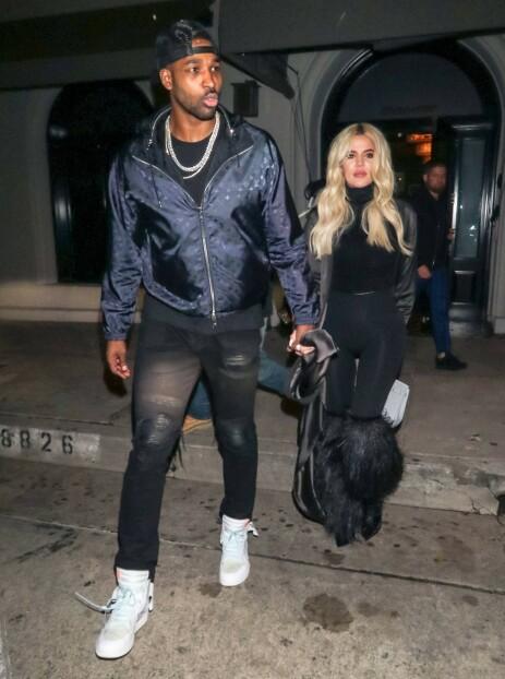 SLÅR TILBAKE: Khloé Kardashian svarer på kritikken hun har fått for hvordan hun behandler eksen Tristan Thompson og Jordyn Woods. Foto: NTB Scanpix