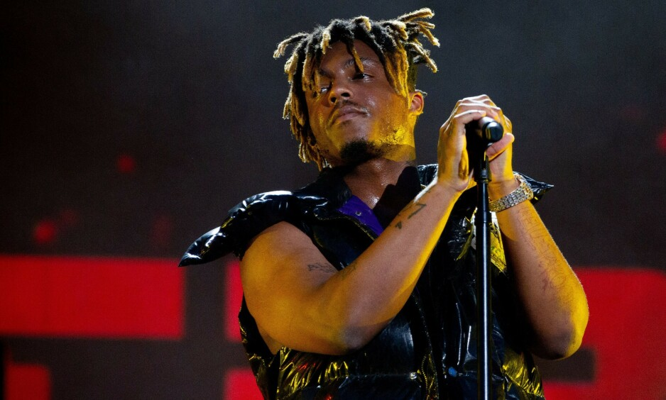 DØD: Søndag kveld kom den triste nyheten om at den amerikanske rapperen Jarad A. Higgins, kjent under artistnavnet Juice Wrld er død. Foto: NTB Scanpix