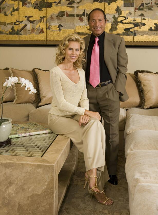 <strong>EKSMANNEN:</strong> Paul Anka og Anna Anka var tidligere gift. Foto: NTB Scanpix