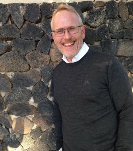 BLÅ KORS: Generalsekretær i Blå Kors, Kjetil Haga, mener Discovery kunne ha droppet denne julekalenderen. Foto: Privat