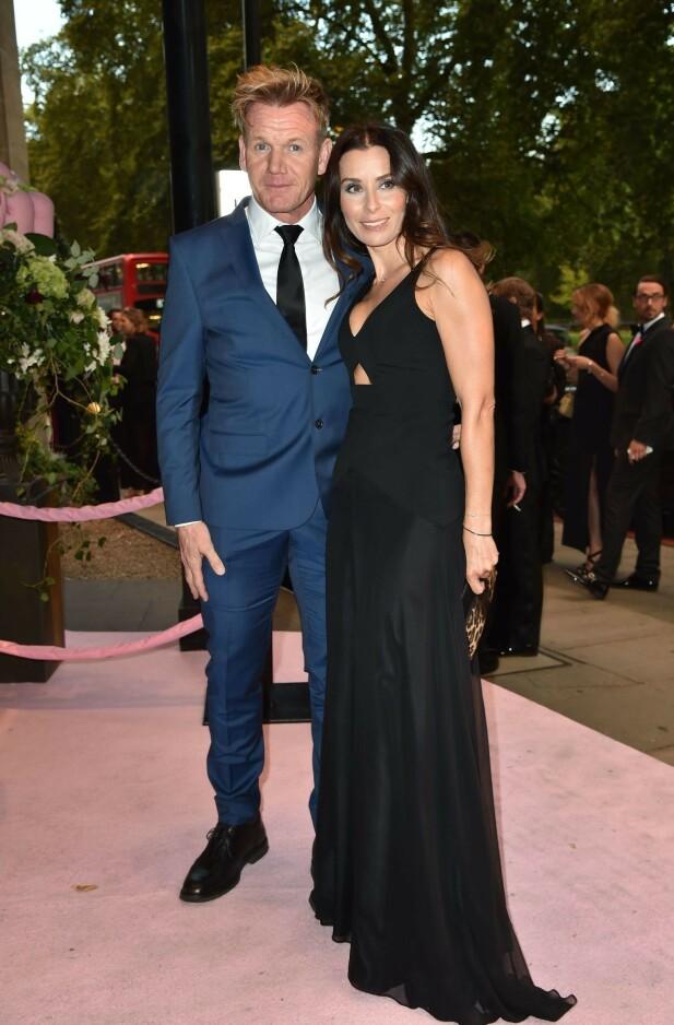GODT GIFT: Gordon og Tana Ramsay er et av Storbritannias mest kjente par. I vår utvidet de familien nok en gang, da de fikk sitt femte barn. Foto: NTB scanpix
