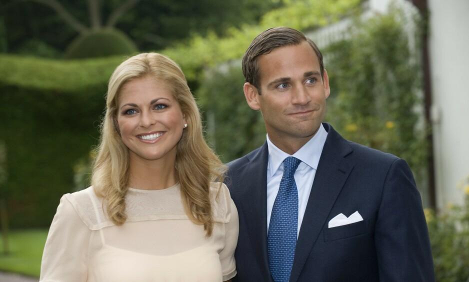 UTROSKAP: Prinsesse Madeleiene og Jonas Bergström forlovet seg i august 2009, men allerede i april året etter ble forlovelsen brutt - og bryllupet avlyst. Nå får utroskapsskandalen nok en gang spalteplass i vårt naboland Sverige. Foto: NTB Scanpix