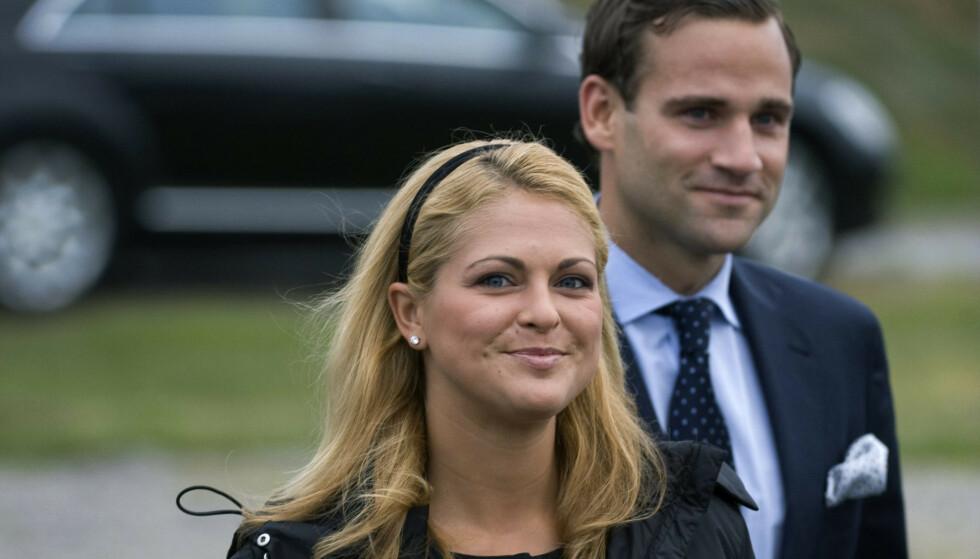 <strong>SKANDALE:</strong> Prinsesse Madeleine og Jonas Bergström stod for en kongelig skandale av dimensjoner i 2010. Foto: NTB Scanpix