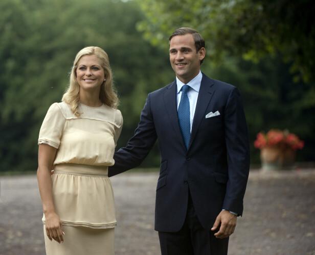 <strong>SLUTT:</strong> Forholdet mellom prinsesse Madeleine og Bergström tok slutt etter en utroskapsskandale av dimensjoner. Foto: NTB Scanpix