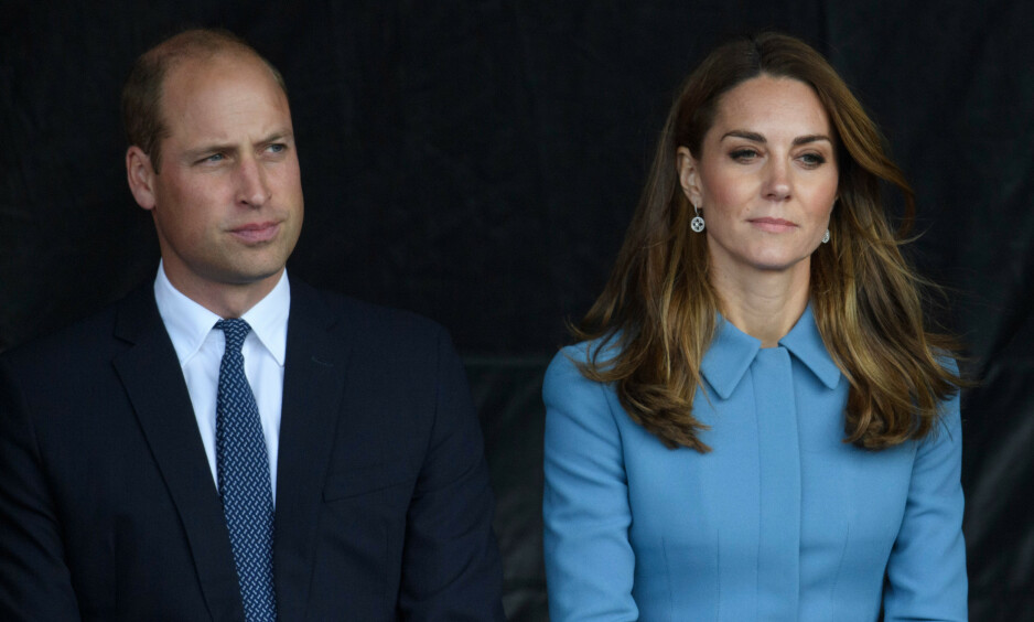 <strong>JULEKORT:</strong> Prins William og hertuginne Kate har foreløpig ikke delt årets julekort med offentligheten. Et nytt bilde, som angivelig er julekortet, ble likevel delt denne uken. Foto: NTB Scanpix