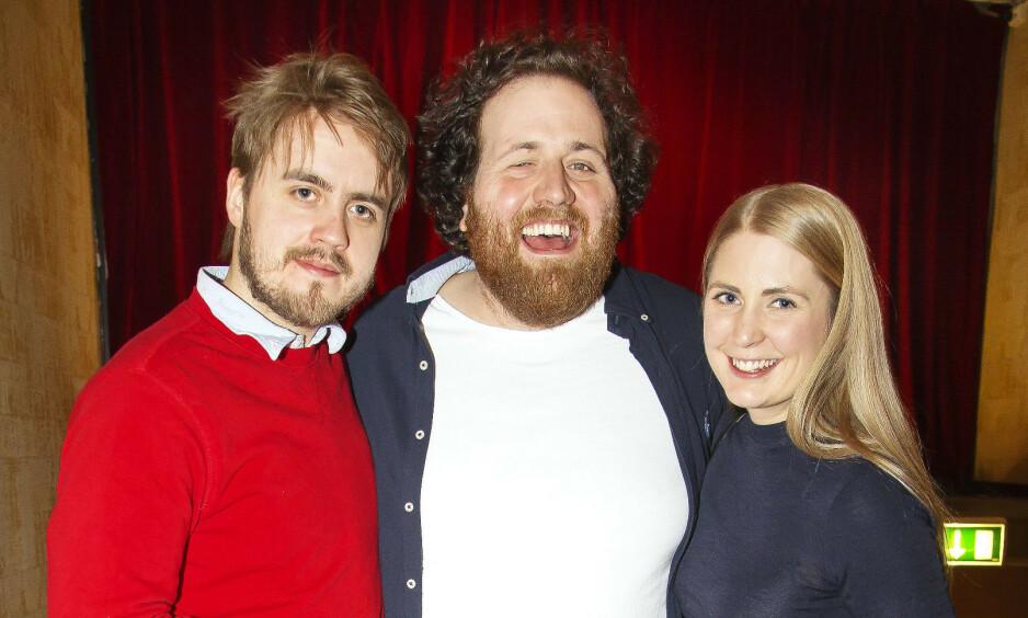 TAKKER FOR SEG: Fredag er trioens siste sending i Operaen i Oslo. Nå har det kommet frem hva Markus Neby, Ronny Brede Aase og Silje Nordnes skal foreta seg videre. Foto: Tore Skaar, Se og Hør