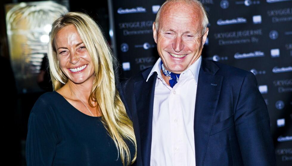 SKAL OGSÅ GIFTE SEG: I likhet med datteren Isabelle har Christian Ringnes forlovet seg i år - han med Lotte Birgitta Inger (t.v.). Foto: NTB Scanpix