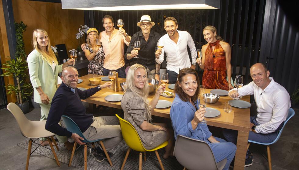 SAMMENSVEISET: Årets deltakere samlet under innspillingen i Kroatia. Foto: Tor Lindseth