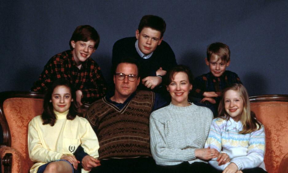 SNART 30 ÅR SIDEN: Det er hele 29 år siden den første julefilmen om McCallister-familien kom. Nesten 30 år seinere har den fremdeles fans verden over. Foto: Sipa USA / NTB Scanpix