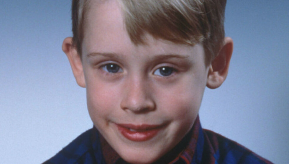I 1990: Macaulay Culkin som Kevin McCallister. Foto: Sipa USA / NTB Scanpix