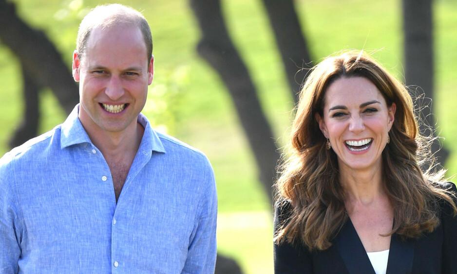 STOR KUNNGJØRING: Prins William og hertuginne Kate kommer visstnok med store nyheter på nyåret. Foto: NTB scanpix