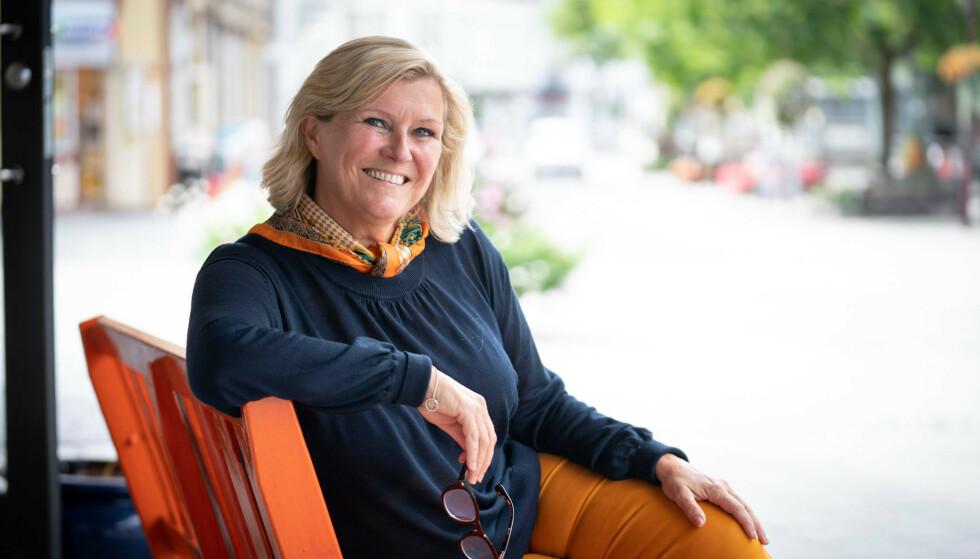 NY TILVÆRELSE: Etter 23 år i TV 2, som ukependler fra Porsgrunn, var Signe Tynning klar for noe nytt. Foto: Privat