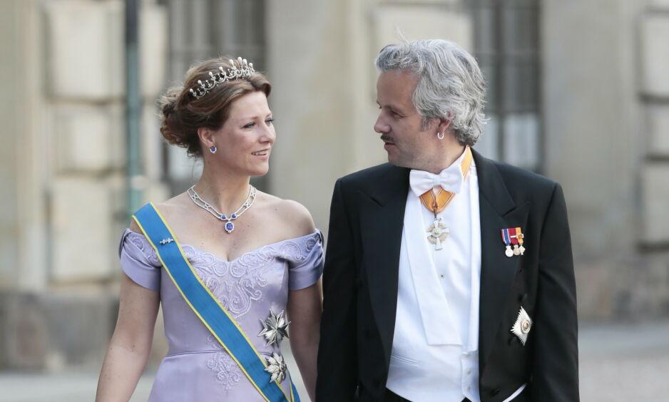 VAR GIFT: Ekteskapet mellom prinsesse Märtha Louise og Ari Behn var et av Norges mest omtalte. Foto: NTB scanpix