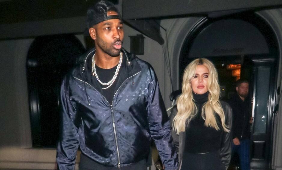 GJENFORENT: I forbindelse med den årlige julefesten skal Khloé Kardashian og Tristan Thompson ha blitt gjenforent. Bildet er fra en annen anledning. Foto: NTB Scanpix