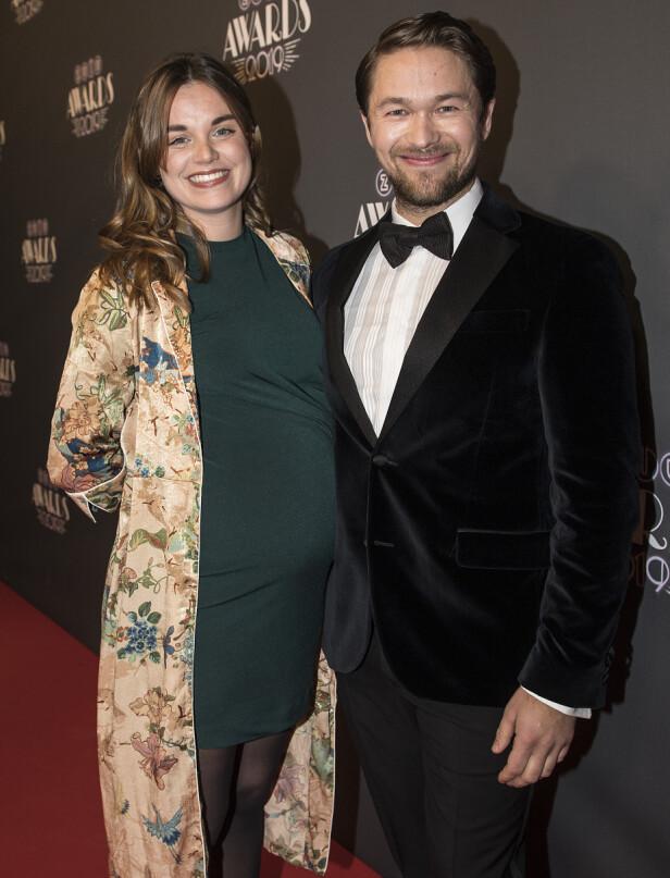 FORELDRE: Jakob Oftebro og kjæresten Hannah Chocron ble foreldre for første gang i år. Foto: Mogens Flindt