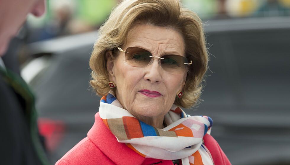 AVLYSER: Dronning Sonja avlyser sitt første offisielle oppdrag etter Ari Behns bortgang. Foto: NTB Scanpix