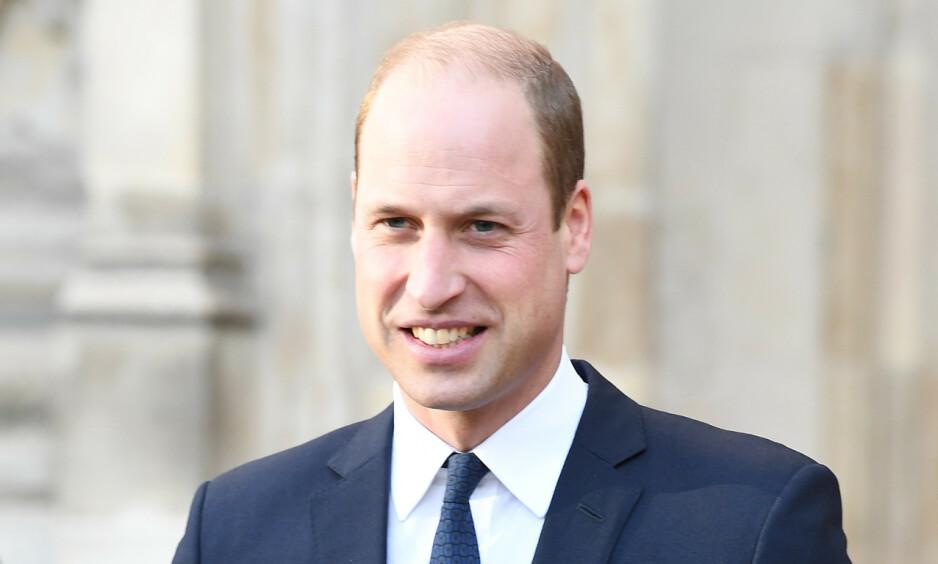 <strong>LANSERER MILJØPRIS:</strong> Prins William lanserte tirsdag et prosjekt som vil foregå over det neste tiåret. Foto: NTB scanpix