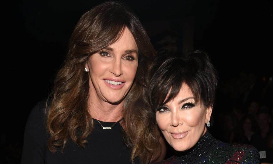 ÅPNER OPP OM SKILSMISSEN: I et ferskt intervju åpner Cailtyn Jenner opp om forholdet og skilsmissen fra ekskona, Kris. Foto: NTB Scanpix